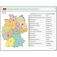 Ich kenne Deutschland - Bundesländer und Landeshauptstädte (German version)