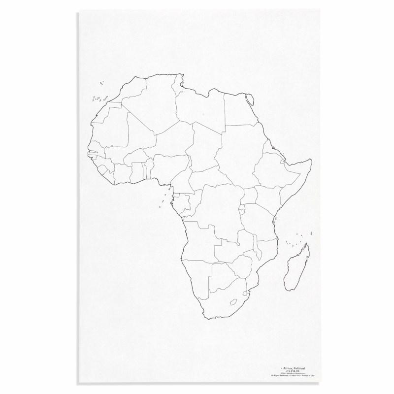 Africa: Political (50)