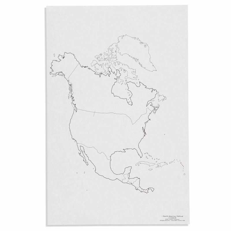North America: Political (50)