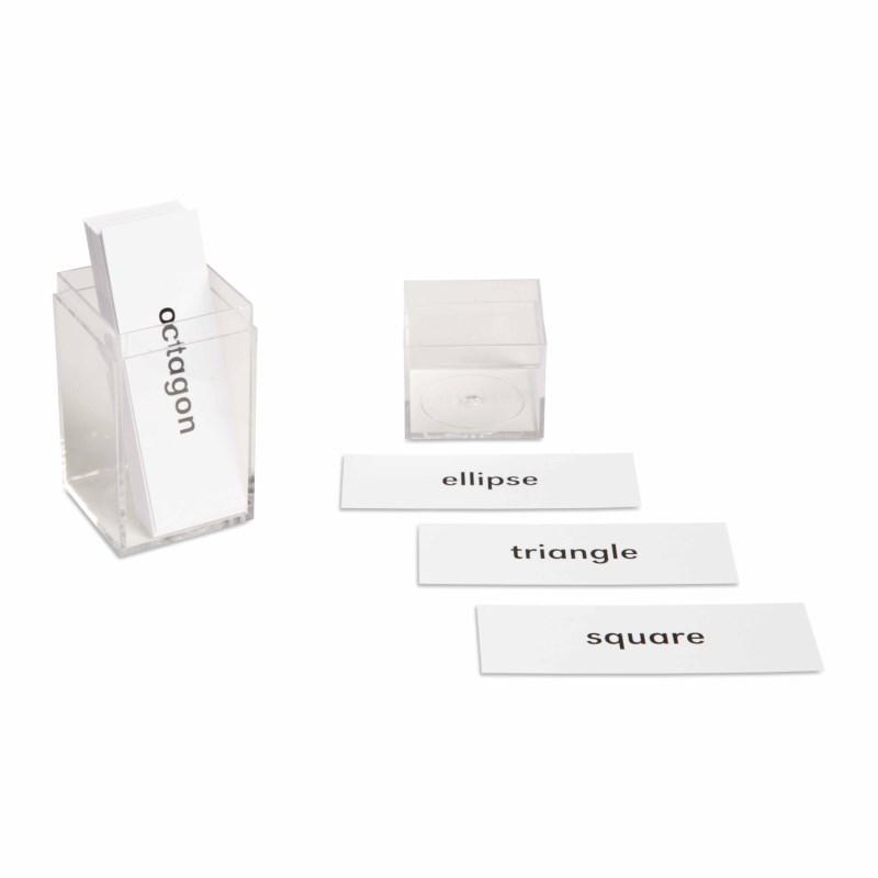 Geometric Beginning Labels