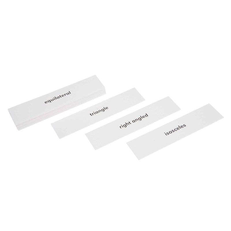 Geometric Cabinet Advanced Triangle Labels