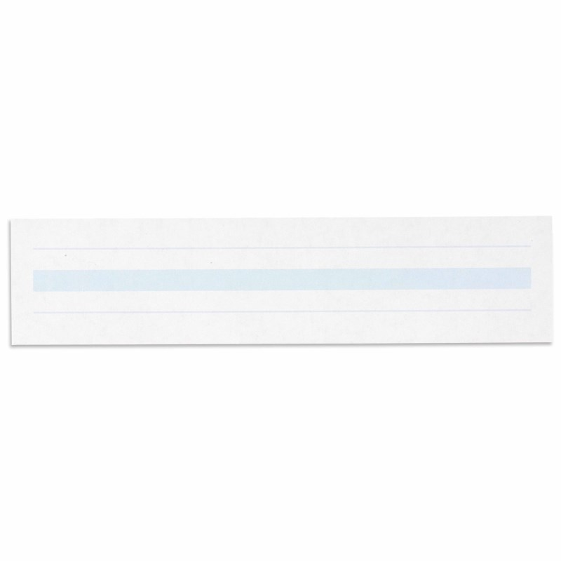 Writing Paper: Blue Lines – 2 x 8.5 in – (500)