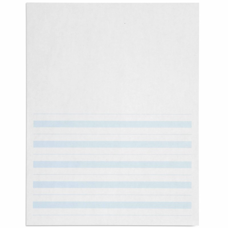 Writing Paper: Blue Lines – 8.5 x 11 in – (500)
