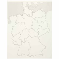 Control Map Puzzle Map Germany (German version)