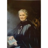 Color Photo - Maria Montessori: A3 (11.7 x 16.5 in)