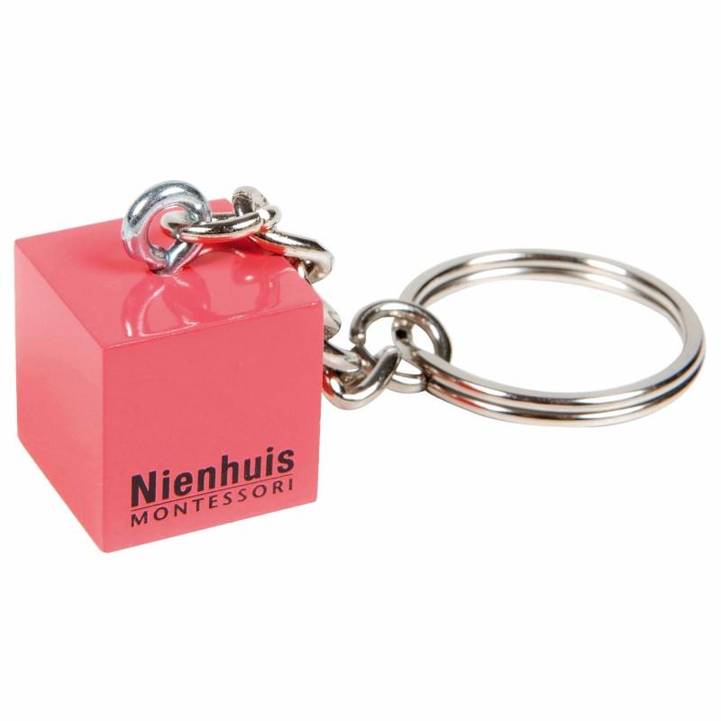 Key Ring Nienhuis Montessori: Pink Tower Cube