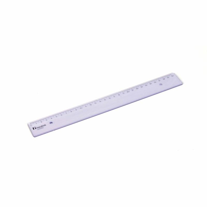 Ruler - Popular - Plastic - 30 cm
