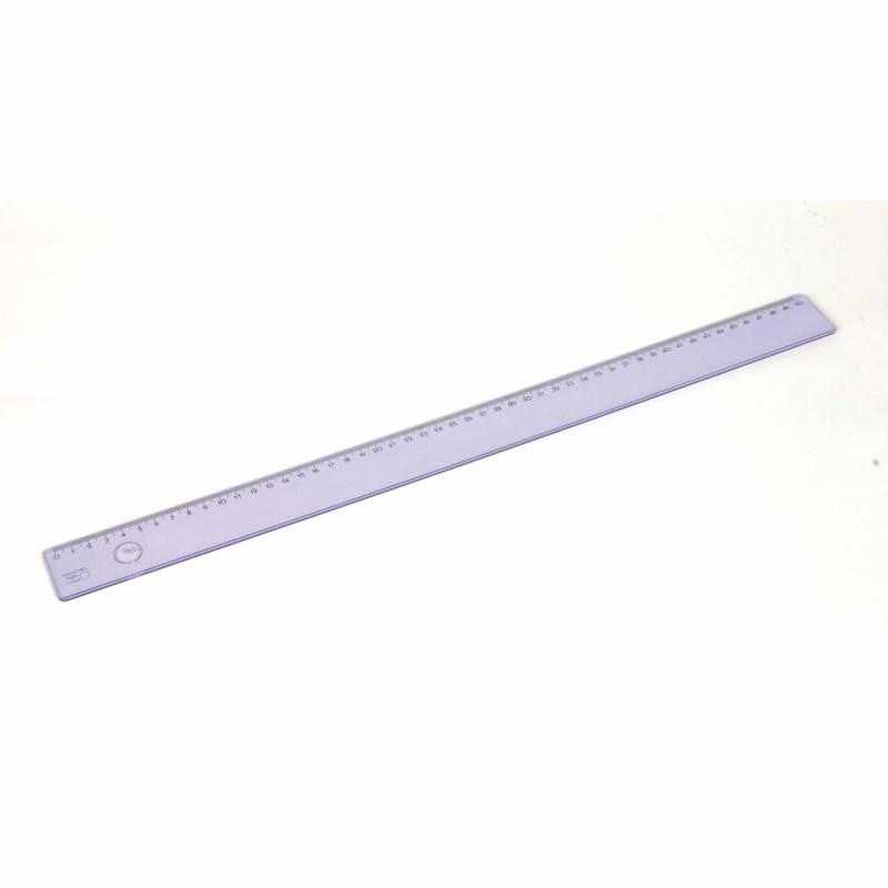 Ruler - Popular - Plastic - 50 cm