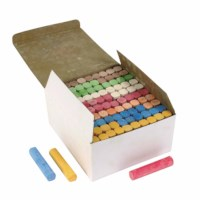 Sidewalk / playground chalk - Box of 100 assorted
