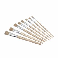 Paint brushes - Lyons - Flat ferrule, short handled - Nr. 8