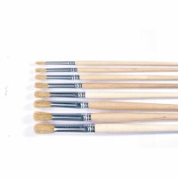 Paint brushes - Lyons - Round ferrule, short handled - Nr. 8