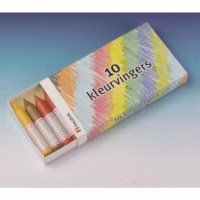 Colouring fingers - Heutink - Box of 10.