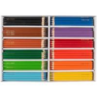 Crayons triangular Goldline - Heutink - Carton of 288 - Assorted colours