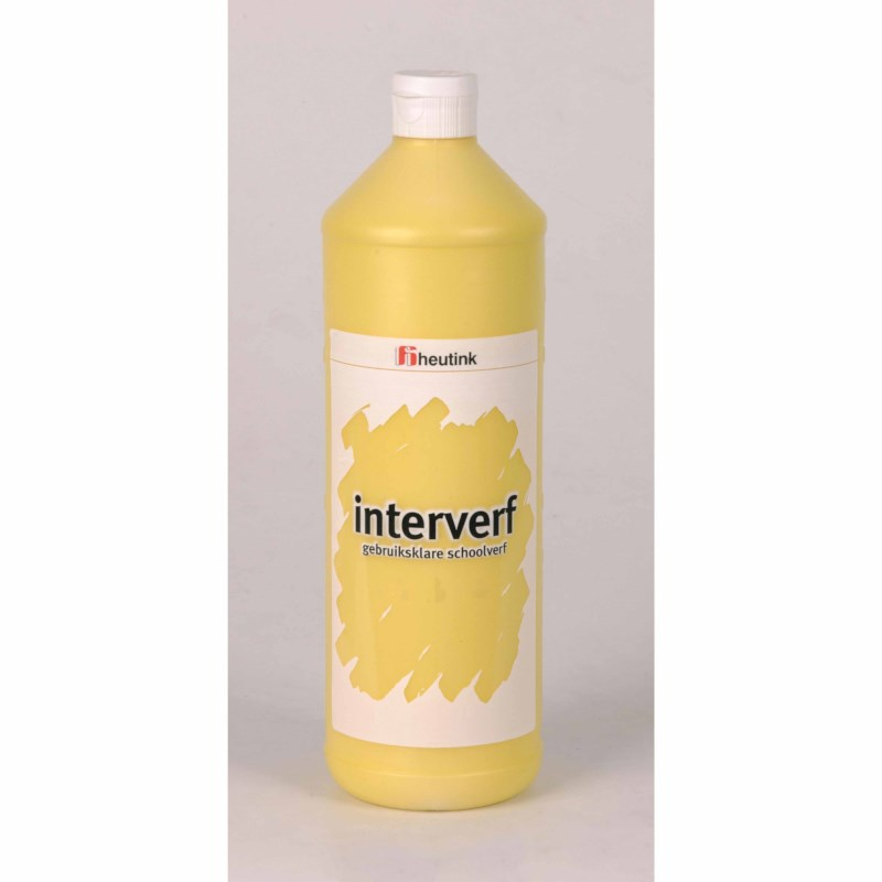 Interpaint - 1 Litre bottle - Canary yellow