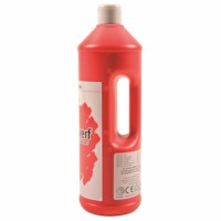 Interpaint - 1 Litre bottle - Light red