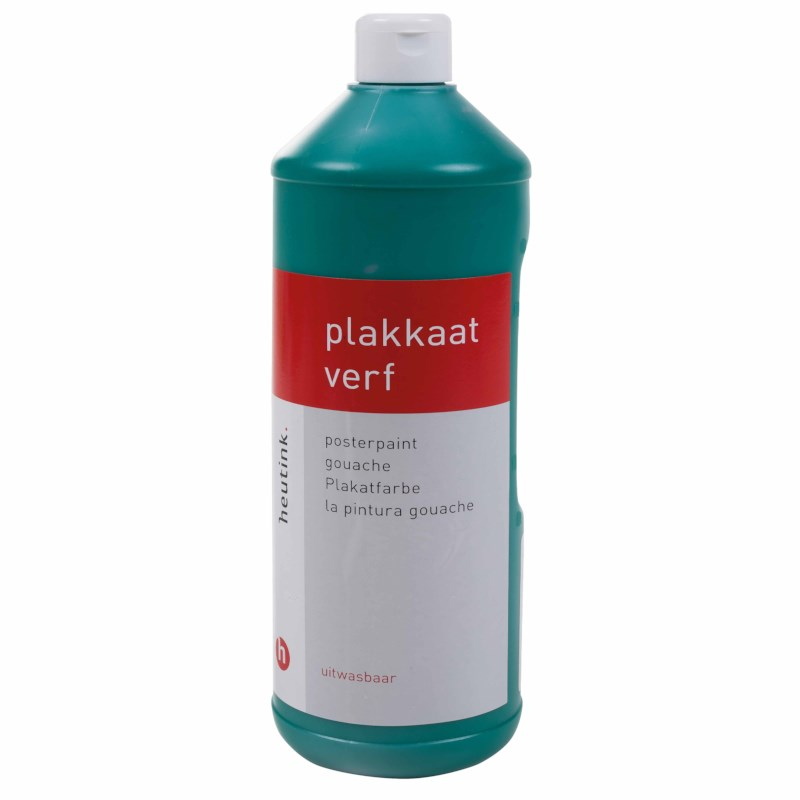 Interpaint - 1 Litre bottle - Christmas green