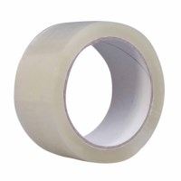 Buff packing tape (PP) - Transparent