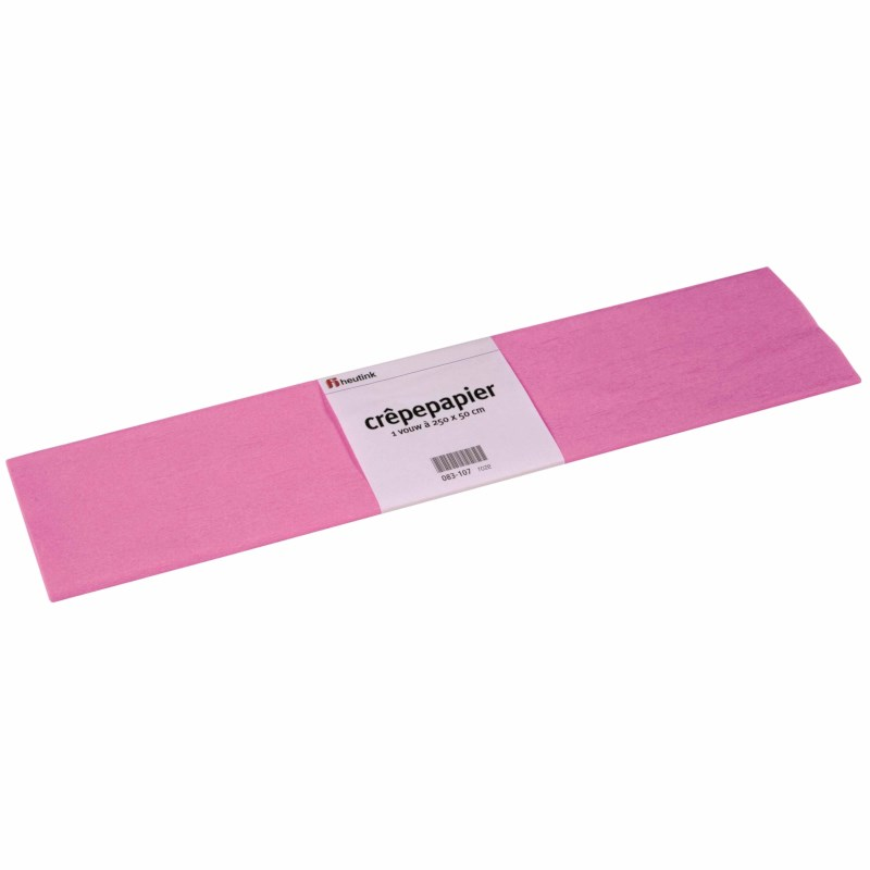 Crepe paper - Floriade - Pink