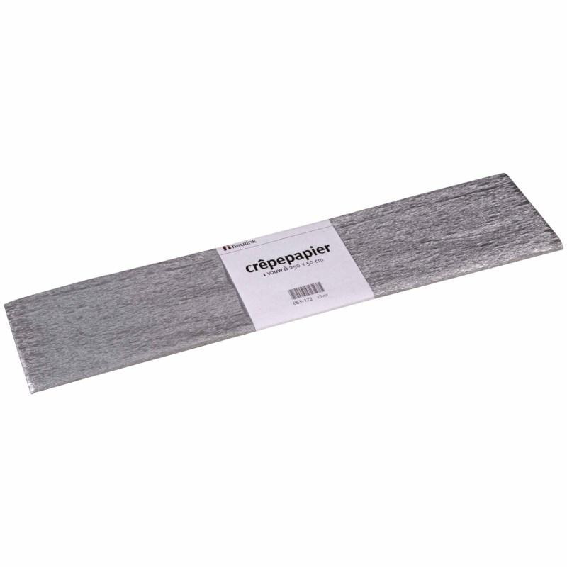 Crêpe paper - Floriade - Silver