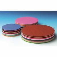 Craft paper 60 grams - Round - 12 colours - Ø 12 cm