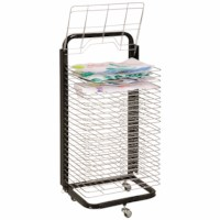 Drying rack - Movable - 25 racks
