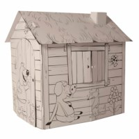 Cardboard play house - Educo - Play house printed