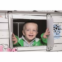 Cardboard play house - Educo - Play house printed