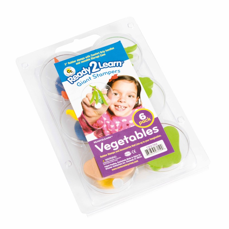 Jumbo stamps - Vegetables - Size 8 cm