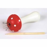 Knitting mushroom - Spool knitting bobbin