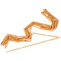 Tausenderkette: Lose Perlen, Kunststoff