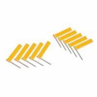 Fahne mit Nadel: gelb (10)
