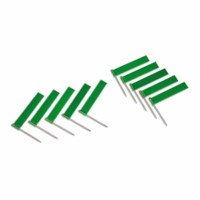 Fahne mit Nadel: grün (10)