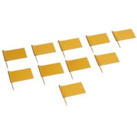 Fahne mit Nadel: goldfarbe (10)