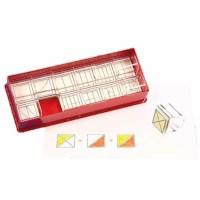 Brüche-Stempel: Quadrat