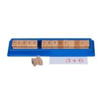 Ziffernstempel in Kunststoff-Schachtel
