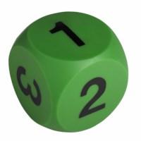 Ziffernwürfel grün