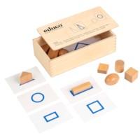 Tastmaterial - geometrische Formen