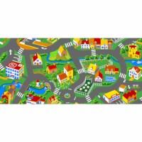 Verkehrsspielmatte Stadt 140 x 200 cm