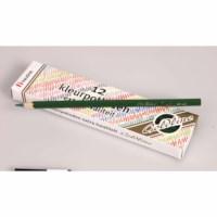 Buntstifte Hexagonal Goldline - Heutink - Karton mit 12 Stück - Dunkelgrün