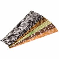 Krepppapier - 6 Blatt - Tierprint
