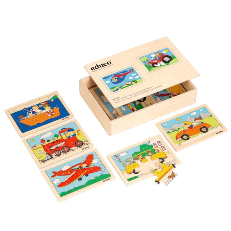 Puzzlebox Fahrzeuge