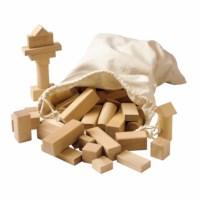 Holzbausteine blank