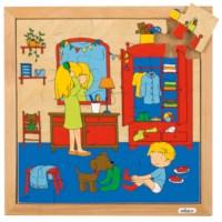 Hygiene Puzzle - anziehen