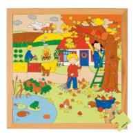 Jahreszeiten Puzzle 2 - Herbst