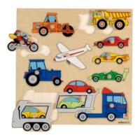 Knopfpuzzle - Fahrzeuge