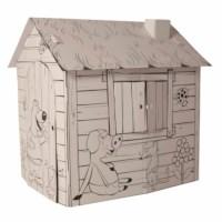 Karton Spielhaus - Educo - Mit Aufdruck