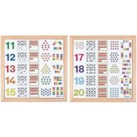 Zähl-Diagrammen 11 -15 + 16-20