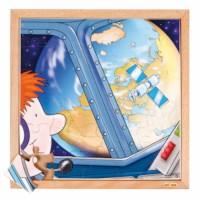 Raumfahrt Puzzle - Die Erde