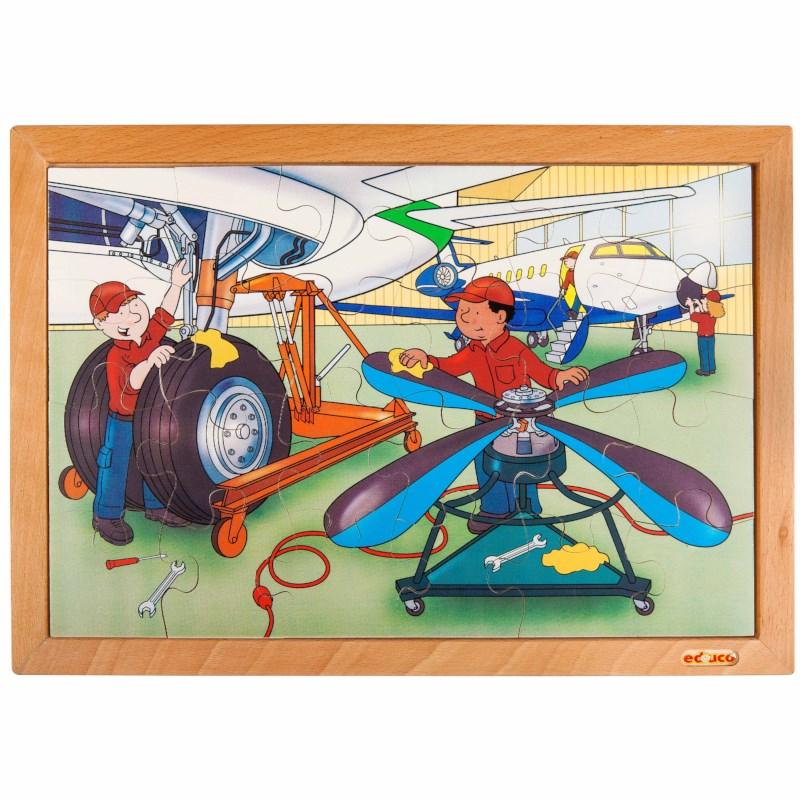 Technik Puzzle - Hangar