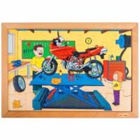 Technik Puzzle - Werkstatt